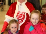 Ellie and Cara Doyle meet Mrs Claus at Ballincollig Shopping Centre Picture: Ailish Murphy