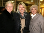Aine Collins TD, Emer Cassidy Chairman of Ballincollig Business Association and Martina Dowling at Ballincollig Shopping Centre for the official switching on of the Christmas Lights Picture: Ailish Murphy