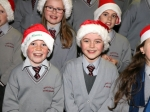 Smiles all round from the Gaelscoil Ui Riordain choir at Ballincollig Shopping Centre Picture: Ailish Murphy