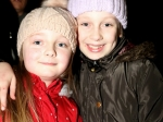 Sisters Claire and Rachel Woodhouse enjoying a night of celebration at Ballincollig shopping Centre Picture: Ailish Murphy
