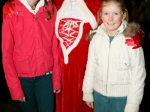 Cliona and Dara Cassidy meet Mrs Claus at Ballincollig Shopping Centre Picture: Ailish Muprhy