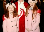 Muireann and Eimear Kelleher with Mrs Claus at Ballincollig Shopping Centre Picture: Ailish Murphy