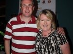 Emer Cassidy, Chairperson of BBA pictured with Jeremy O' Sullivan at the annual Golf Classic at Lee Valley Golf Club